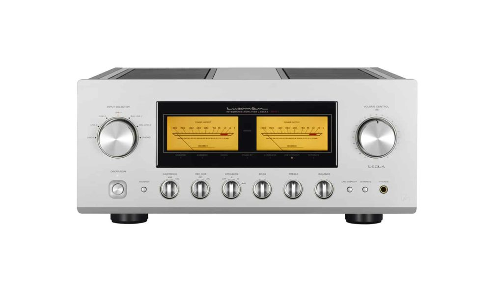 luxman l509flagship integrated amplifier